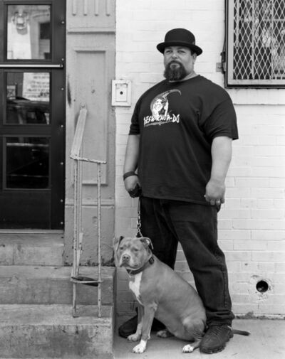 Robert Kalman, 'Luis with Shai', 2016