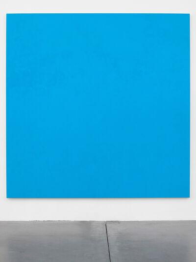 Olivier Mosset, 'Monochrome (Blue)', 2014