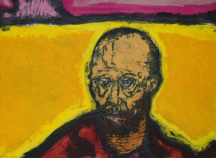 Hughie O'Donoghue, 'The Yellow Man', 2018