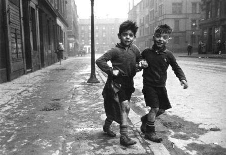 Bert Hardy, 'The Gorbals Boys', 1948