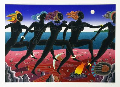 Thomas Mcknight, 'RUNNING NUBIAN', 1994