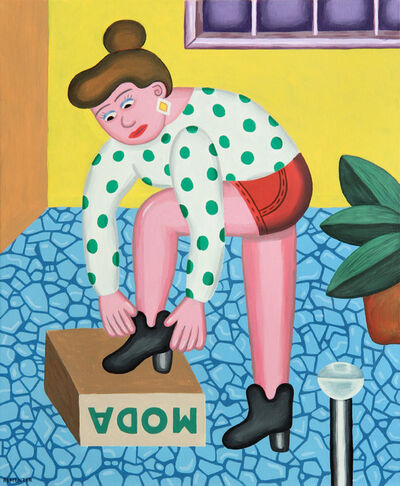 Andy Rementer, 'New Shoes', 2014