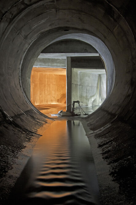 Michael Cook (b. 1982), 'Wilket Creek Storm Trunk Sewer, From the series Water Underground', 2013