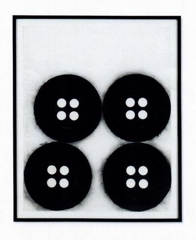 Donald Sultan, 'Four Buttons', 1995