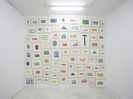 Marlon de Azambuja, 'Lecciones de Pintura', 2015