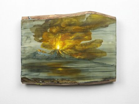 Tursic & Mille, 'Landscape and Vesuvio and fire', 2018