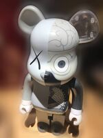 KAWS, 'Bearbrick Dissected 1000% ( Grey )', 2010