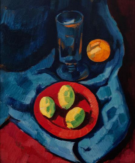 Marsden Hartley, 'Still Life with Lemons (Fruit and Tumbler)', 1928