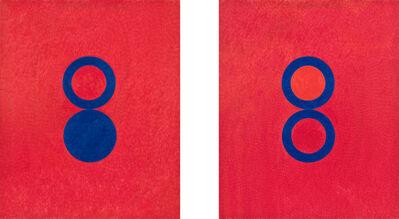 Stephen Antonakos, 'Untitled Drawing, A#3-4, 1980 Berlin', 1980