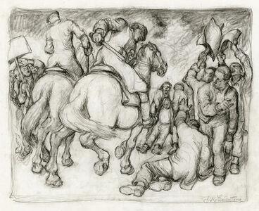 Daniel Ralph Celentano, 'Untitled (Strike Breakers)', ca. 1934