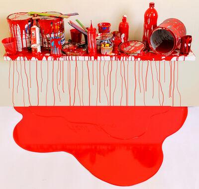 Jorge Magyaroff, 'Escenario Rojo (1)', 2014