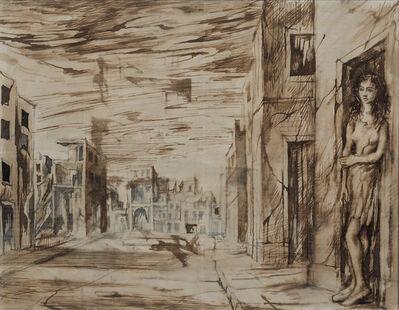 John Minton, 'Bomb Damaged Buildings', ca. 1944