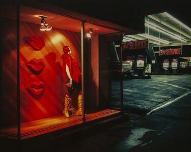 Mark Chamberlain, 'Lip Service at Chicken Little's', 1980