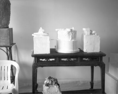 Sally Mann, 'Remembered Light, Untitled (Three Sculptures on Table)', 2005