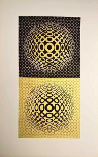 Victor Vasarely, 'Album Meta: Seven Plates 3', 1976