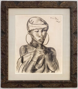 Irma Stern, 'Portrait of a Woman ', 1935