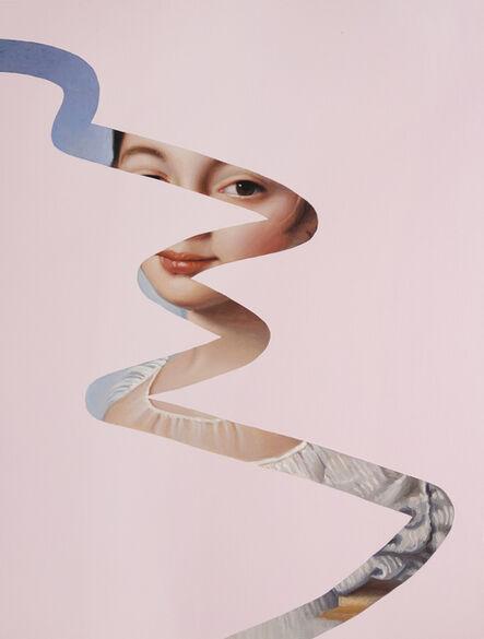 Lino Lago, 'Fake Abstract (Ingres)', 2020