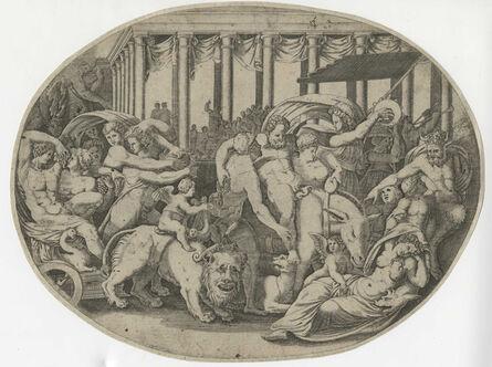 Giorgio Ghisi, 'The Triumph of Bacchus', Mid-16th Century
