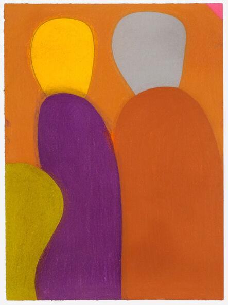 Julian Martin, 'Untitled (Two figures)', 2014