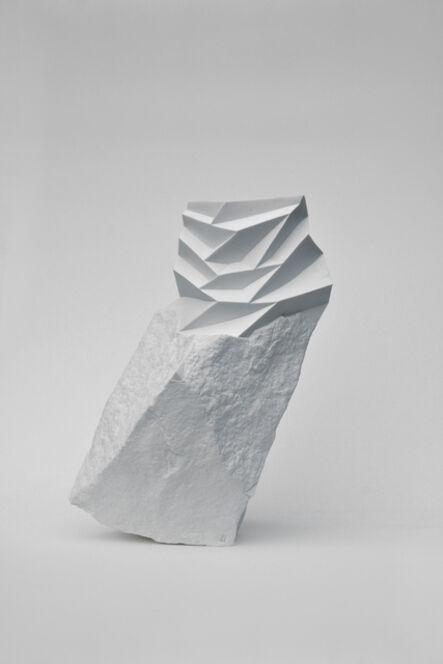 Haoyu Wu, 'New Stoneware White Porcelain Vase No.10', 2014