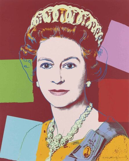 Andy Warhol, 'Queen Elizabeth II, from: Reigning Queens (Royal Edition)', 1985