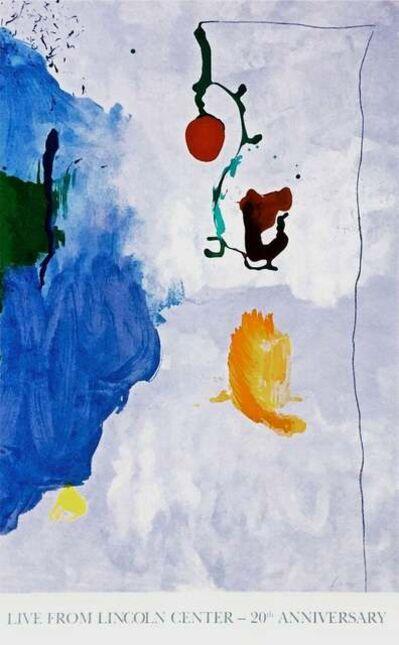 Helen Frankenthaler, 'Eve 1996, Lincoln Center Live 20th Anniversary Silkscreen', 1996