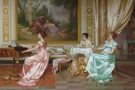 Vittorio Reggianini, 'The Parlor Concert '