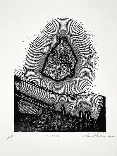 Susan Rostow, 'Island', 2021
