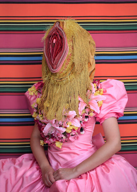 Aleksandra Stone, 'Arrangement in Pink: Portrait of a Person', 2018