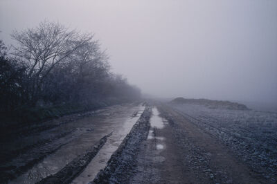 Justin Partyka, 'Field with Frost, Norfolk', 2006