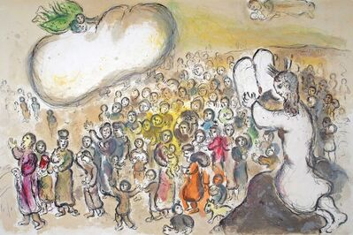 Marc Chagall, 'Moses Beholds All the Work', 1966