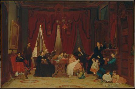 Eastman Johnson, 'The Hatch Family', 1870–1871