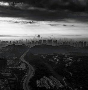 SC Shekar Subrahmanyam, 'Kuala at Dawn', 2017