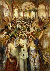 Vincenzo Migliaro, 'Party at Piedigrotta'