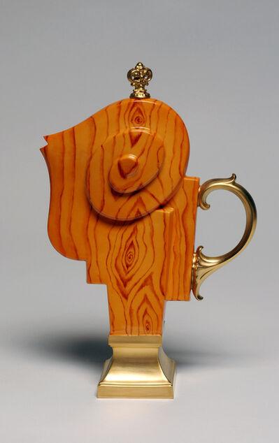 Adrian Saxe, 'Théière, décor Noyer (Teapot, walnut tree decoration)', 2018