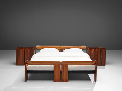 Afra & Tobia Scarpa, 'Afra & Tobia Scarpa 'Artona' Bed with Nightstands', 1975