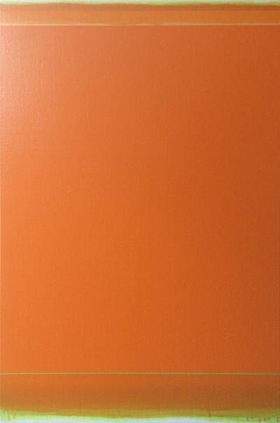Shingo Francis, 'Orange (green to yellow)', 2015