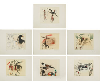 Wifredo Lam, 'Untitled Suite (TR 7901-7907)', 1977