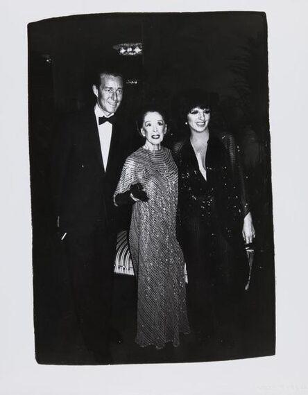 Andy Warhol, 'Andy Warhol, Photograph of Halston, Martha Graham, and Liza Minnelli, 1981', 1981
