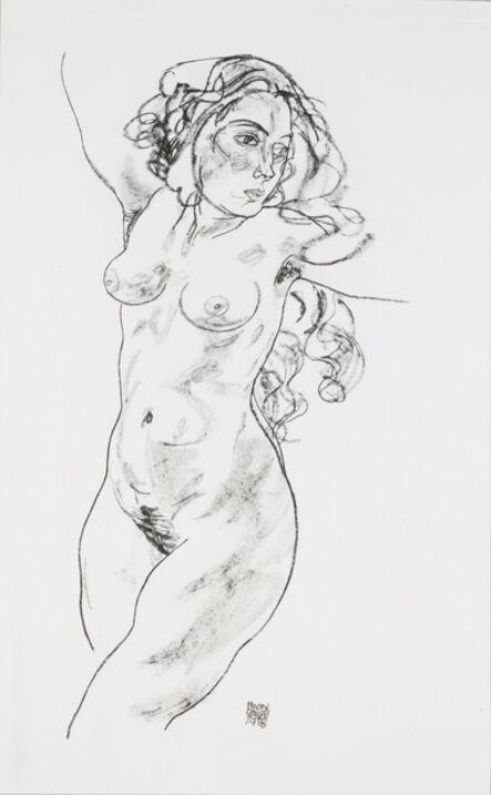 Egon Schiele, 'Standing Female Nude [Handzeichnungen]', 1920