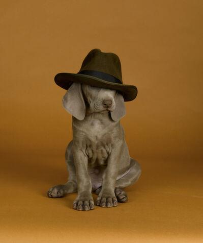 William Wegman, 'Hat Tender', 2007