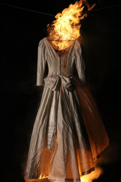 Adriana Marmorek, 'Relic #17 - Wedding Gown 2', 2016