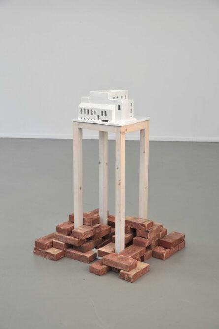 Oscar Abraham Pabon, 'High purity, monument to Ludwig Wittgenstein', 2014