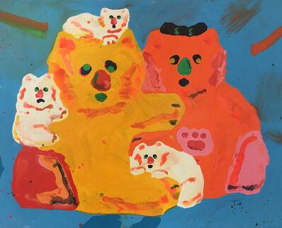 Misaki Kawai, 'Fluffy Family', 2017