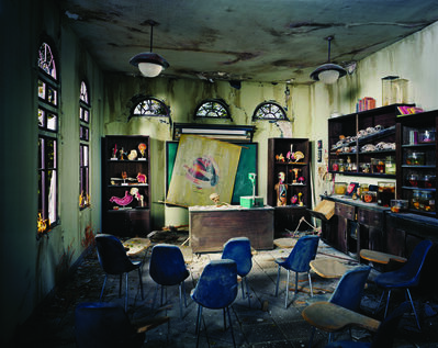 Lori Nix and Kathleen Gerber, 'Anatomy Classroom', 2012