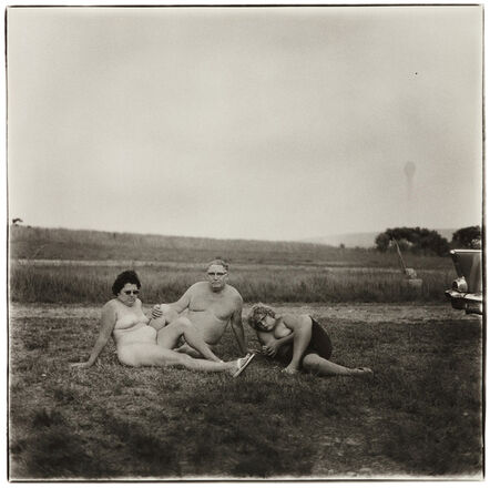 Diane Arbus, 'A Family One Evening in a Nudist Camp, PA', 1965