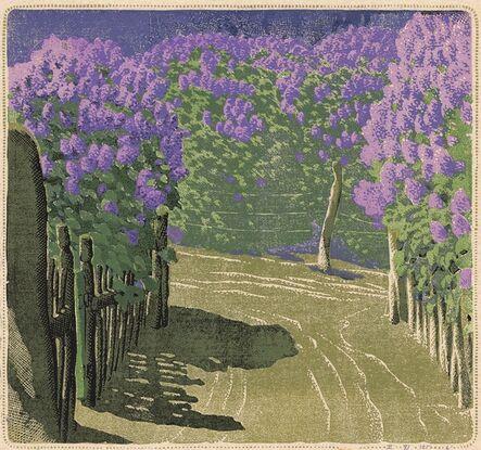 Gustave Baumann, 'A Lilac Year.', 1951