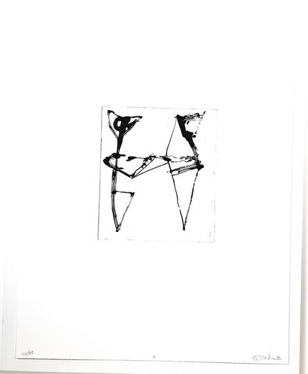 Brice Marden, 'Etchings to Rexroth ll', 1986