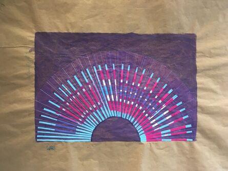 Cassandra Jennings Hall, 'Blue Sunset', 2017