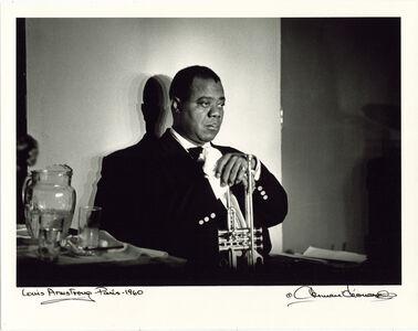 Herman Leonard, 'Louis Armstrong, Paris, 1960', 1960